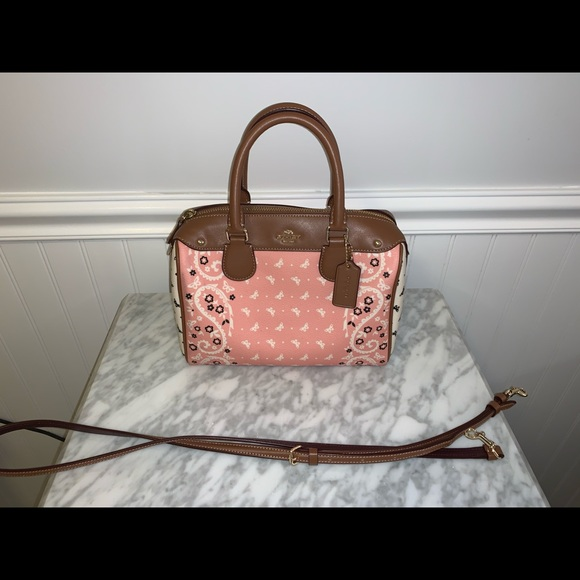 Coach Handbags - COACH PURSE IN BUTTERFLY BANDANA PRINT